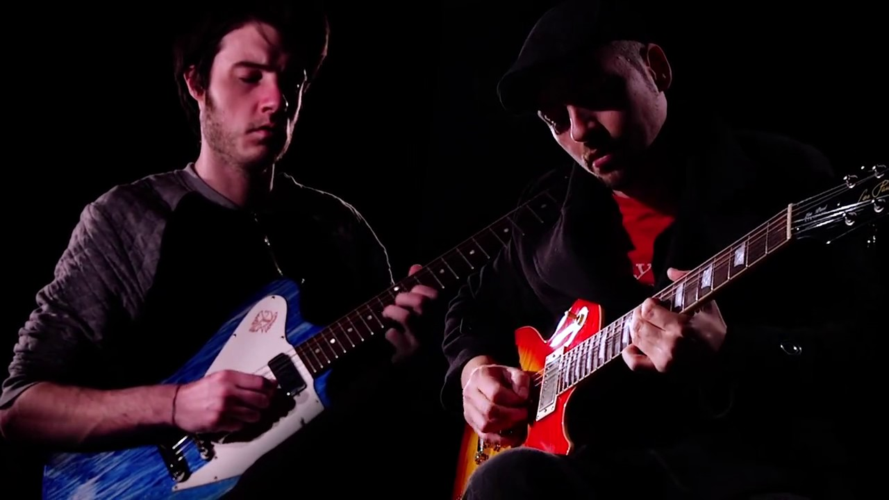 Download Gary Moore's son Jack plays fathers guitar in tribute With Danny Young