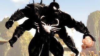 Mortal Kombat Komplete Edition - Black Spider-Man Goro & Dark Kahn Tag Ladder Gameplay Playthrough