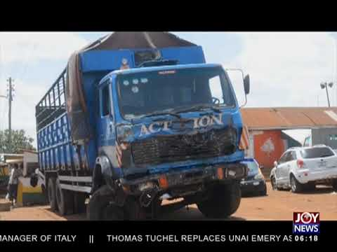 Kumasi-Sunyani Road - AM News on JoyNews (15-5-18)