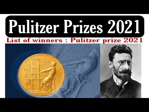 Pulitzer Prizes 2021: The Full List Of Winners