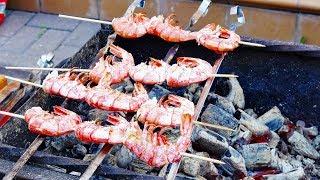 Креветки на гриле в маринаде на канале Вика ТВ