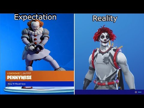 PENNYWISE Is In The Item Shop?!