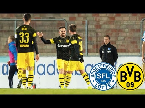 Paco Alcácer keeps on scoring   SF Lotte vs. BVB 2-3   Full Highlights and Goals