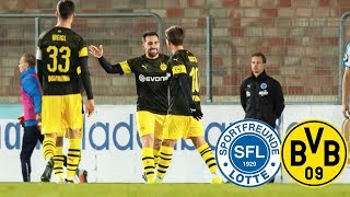Paco Alcácer keeps on scoring | SF Lotte vs. BVB 2-3 | Full Highlights and Goals