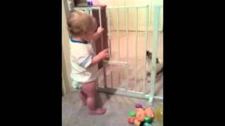 Cute Baby and Puppy talking to each other :)