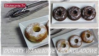 Donuty lub donaty z piekarnika (waniliowe i czekoladowe) :: Skutecznie.Tv [HD]