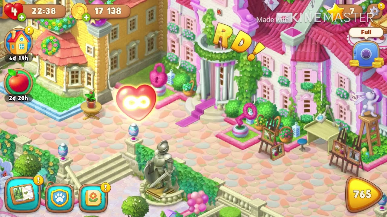 Gardenscapes Cheats