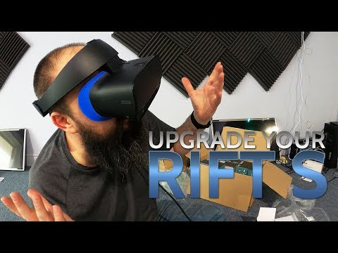 Oculus Rift S // Upgrade your headset with an AMVR or Silicone Facial Padding