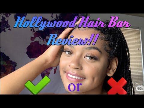Hollywood Hair Bar REVIEW - YouTube