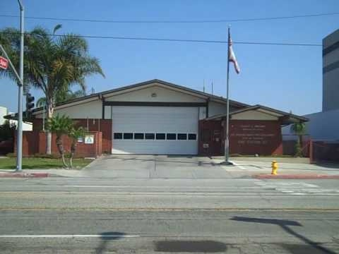 Los Angeles County Fire Department Station 127 aka Emergency! Station 51