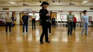 Tush Push (Line Dance ) Walkthrough ( All Classes Through City Of Clovis )