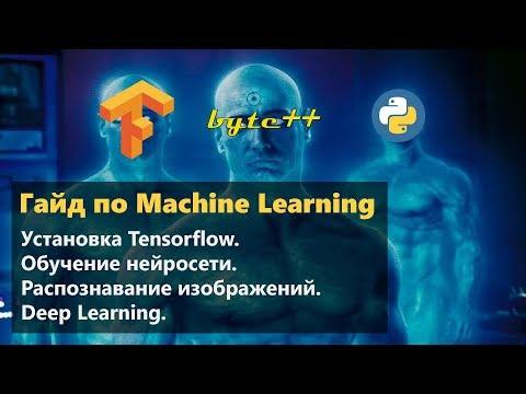 Установка Tensorflow. Создание нейронной сети. FMNIST. Распознавание изображений. Python