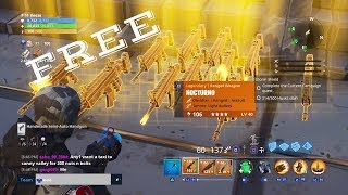 Giving Away FREE NOCTURNO'S To Random People - Fortnite Save The World