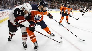 NHL Highlights | Coyotes vs Oilers - Jan. 18, 2020
