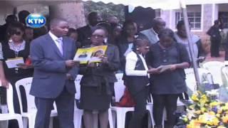 Wambui Otieno Burial