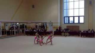 выступление по художественной гимнастике в апреле 2013 в городе Гродно
