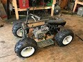 rebuilding the mini green ATV part 1