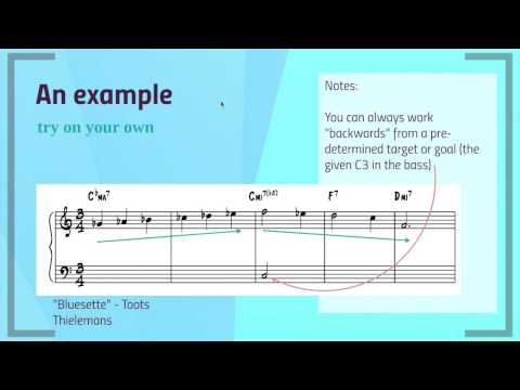Jazz Chord Substitutions Contrary Motion