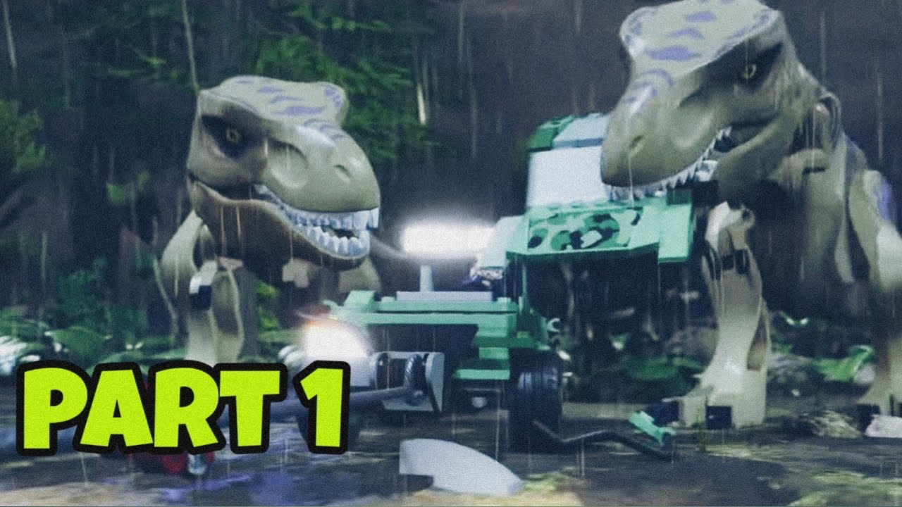 Lego Jurassic World | Jurassic Park 2 Gameplay #1 - Lego ...
