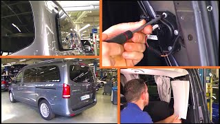 🇫🇷 Déposer et poser le moteur de la vitre entrebâillante électrique   W447