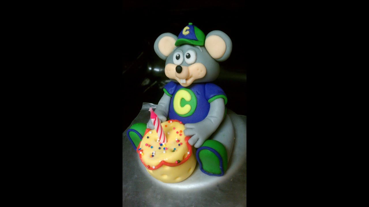 How to Make a Rainbow Chuck E Cheese Cake YouTube
