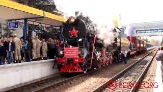 В Симферополь прибыл Поезд Победы(, 2016-04-13T12:37:06.000Z)