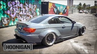 Download [HOONIGAN] DT 111: Street Fighter LA 500hp BMW E92 vs Sh*tcar #SPACERACE Mp3 and Videos
