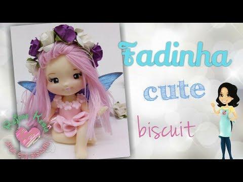 Diy Fadinha Cute - Biscuit - Saramanil Corantes