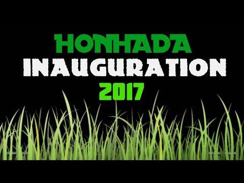 Honhada Inauguration Stade du Hameau 2017