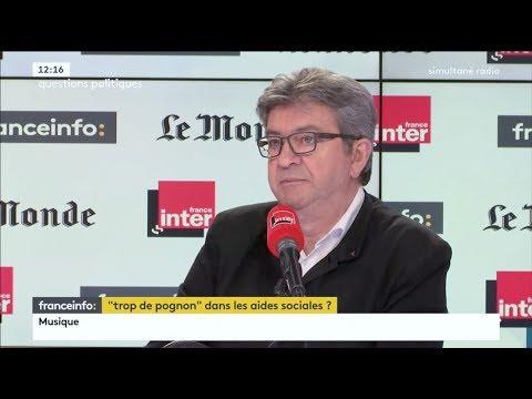 «MACRON EST UN EXTRÊMELIBÉRAL»  Mélenchon