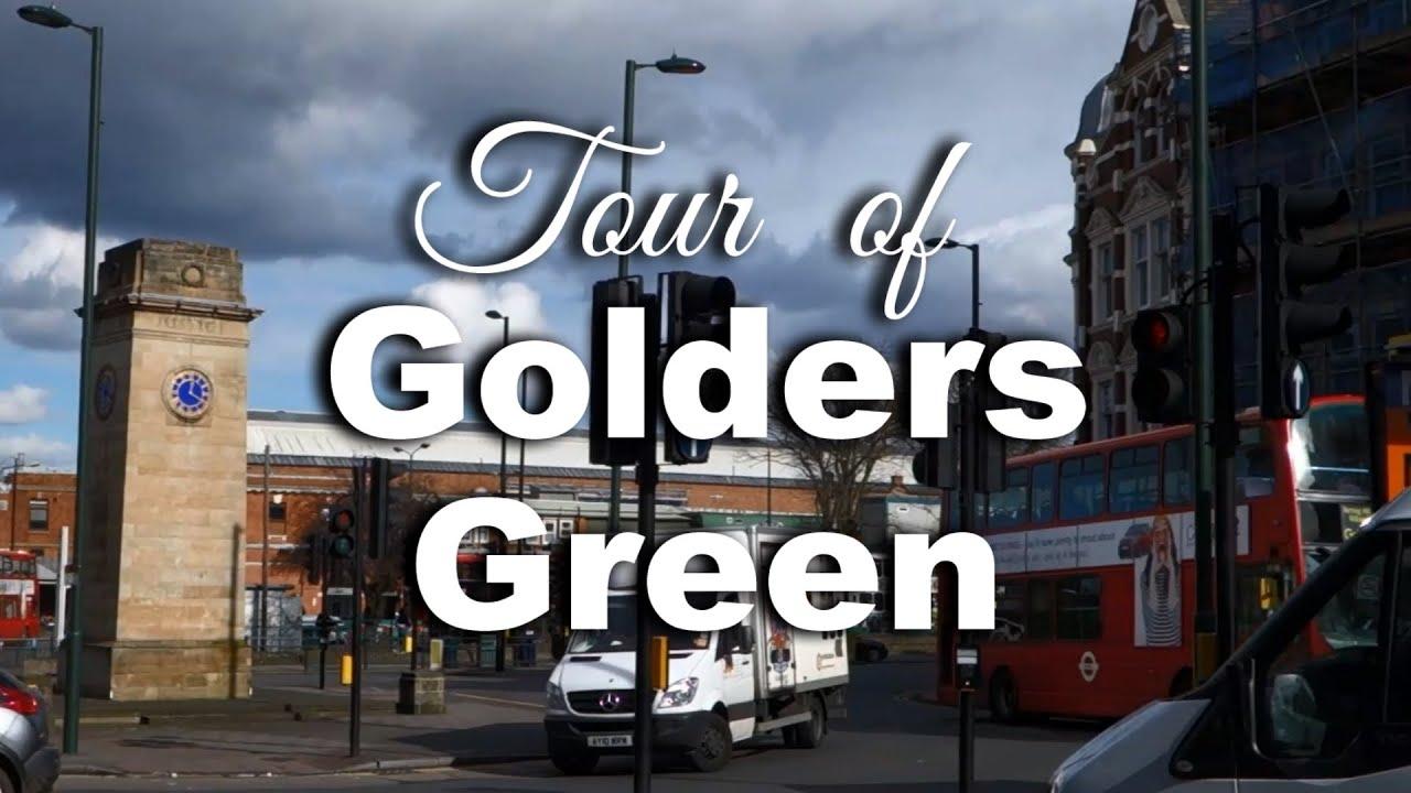 Tour of Golders Green, London - YouTube
