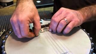 Do-it-yourself Banjo Bridge Tool