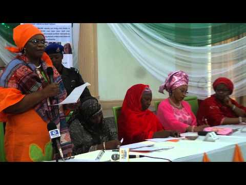 UNFPA Nigeria Rep. Madam Rati at the International Fistula Day 2014