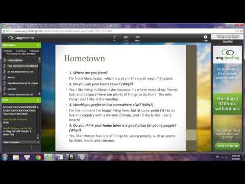 Bài giảng Speaking part 1 - Huong Mysheo