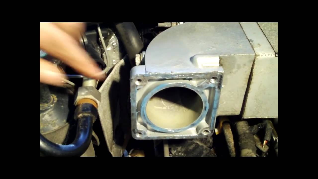 how to intake throttle body 1996 5 0 ford explorer youtube. Black Bedroom Furniture Sets. Home Design Ideas