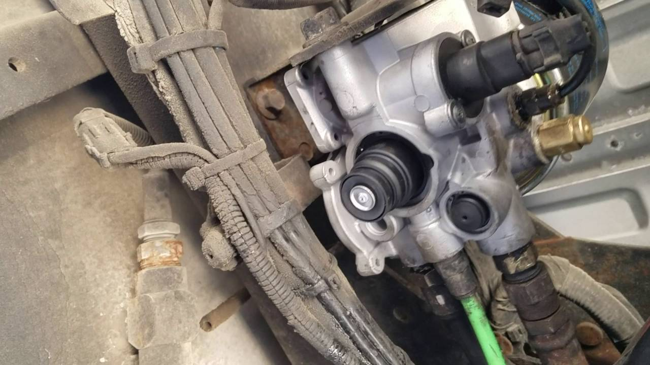 Free Flow Exhaust >> Volvo truck bad purge valve number 2 - YouTube