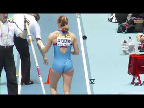 Anastasia Savchenko (2018) Rusya  Yüksek Atlama