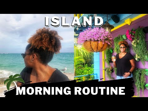 ISLAND MORNING ROUTINE 2020 ☀️ [Work from Home Accountant - Nassau, Bahamas]   Life of Re H. C.