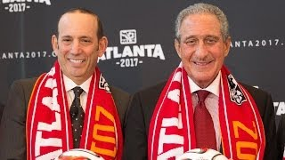 Commissioner Don Garber & expansion owner Arthur Blank feel the time is right for a team in Atlanta