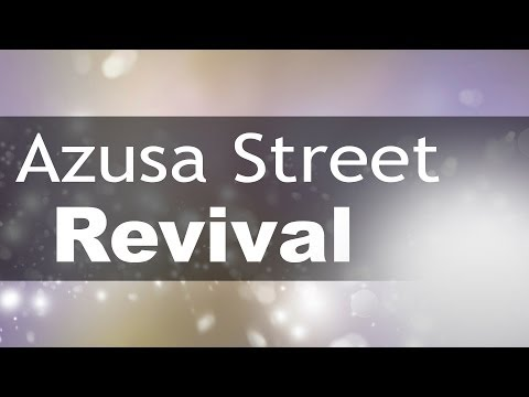 Azusa Street Revival | It's Supernatural with Sid Roth | Tommy Welchel