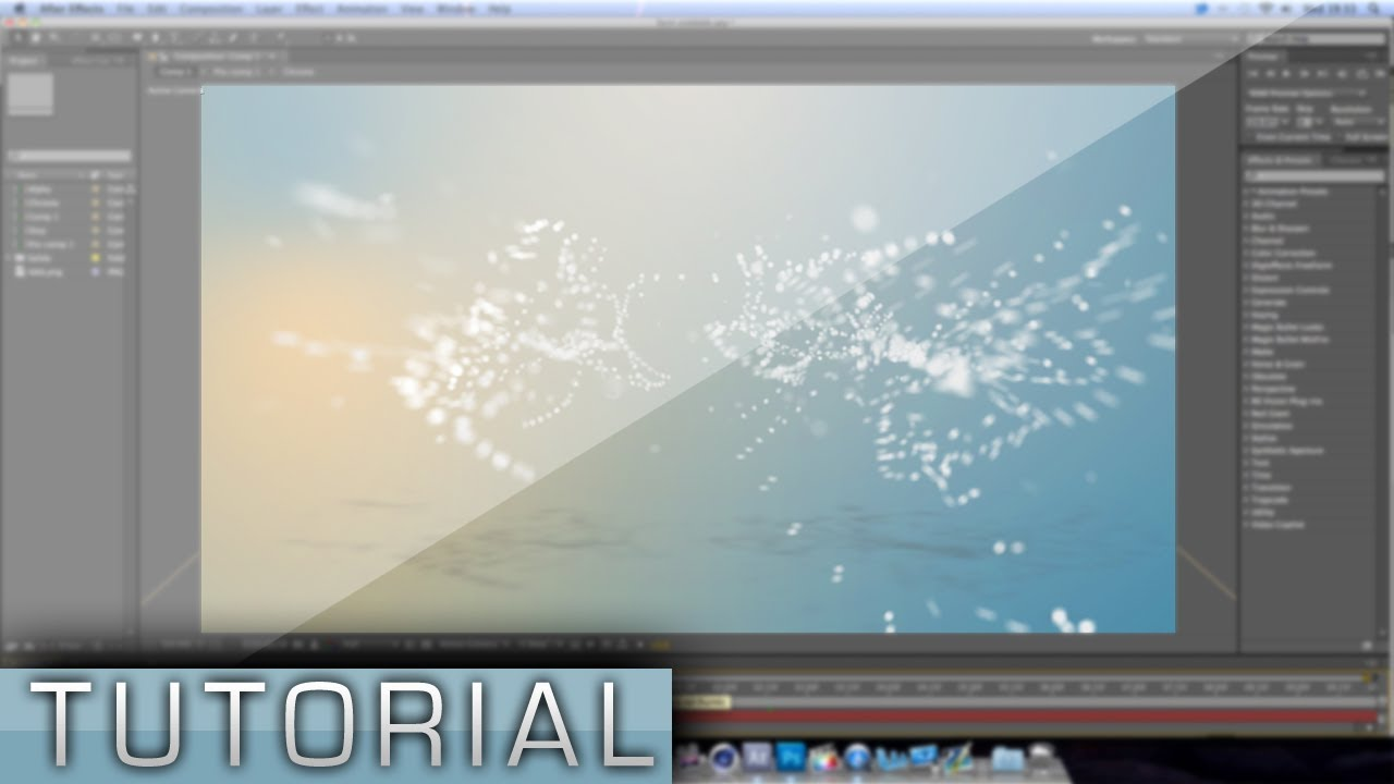 Particles transition to text tutorial after effects cs6 trapcode form youtube