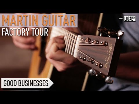 How Guitars are Made at the Martin Guitar Factory | Secretly Awesome