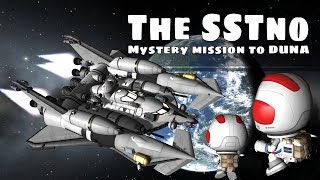 Stock 1.6 KSP - The SSTno - Reusable science return vehicle to Duna, Ike and Minmus