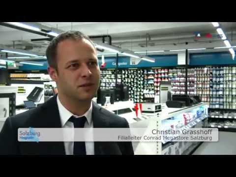 Conrad Megastore Salzburg im RegionalTV