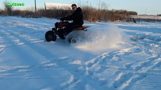 Snow Tubing - Ya we Crashed