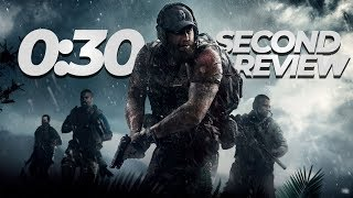 Ghost Recon Wildlands: The 30 Second Review