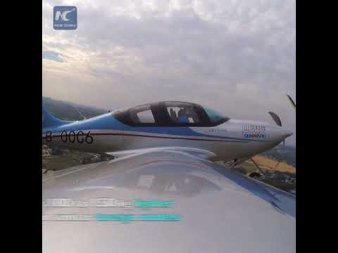 Breakthrough: China's first all-composite aircraft completes its