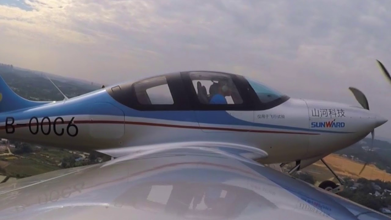 Breakthrough: China's first all-composite aircraft completes its first  flight