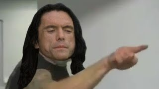 Tommy Wiseau is Angry