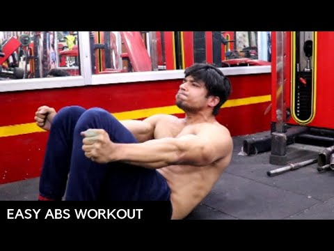 Easy 5 min ABS Workout For GUARANTEED SIX Packs (Hindi)